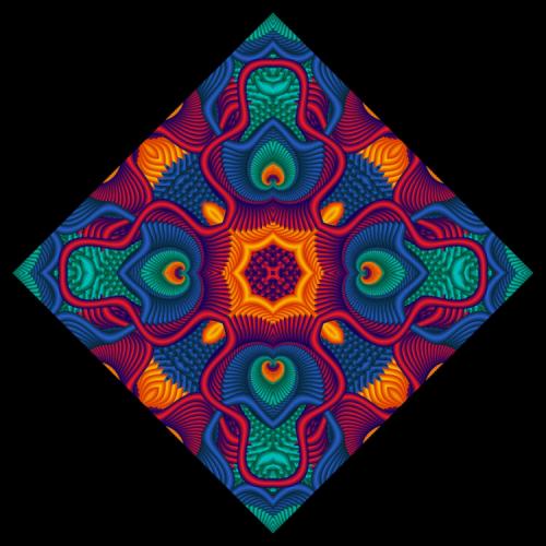 Mrs Hill's Mandala